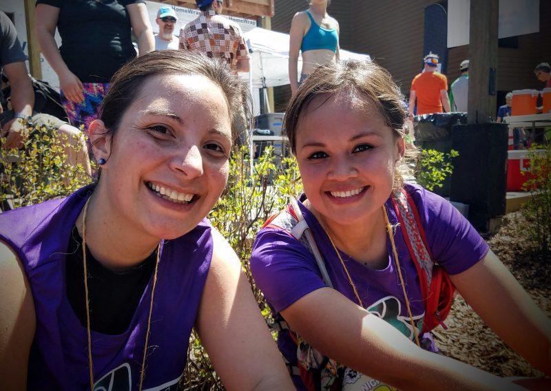 Alicia and Nicole All Smiles