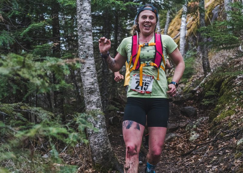 All Smiles at the Superior 50K - Photo Credit Fresh Tracks Media