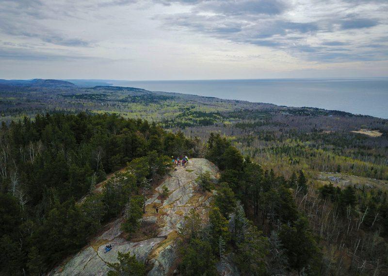 Carlton Peak From Above - Photo Credit Fresh Tracks Media