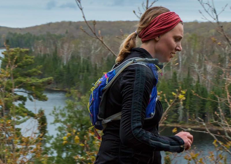 Lake Agnes Running - Photo Credit Mike Wheeler