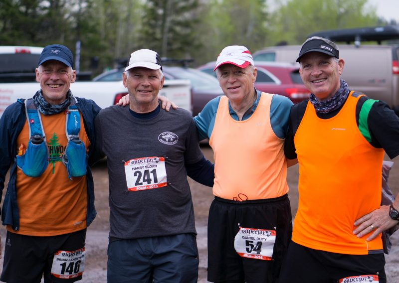 Minnesota Trail Running OGs - Photo Credit Jamison Swift