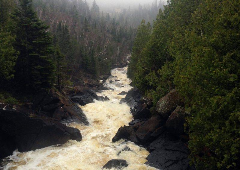 Poplar River Rapids - Photo Credit Heidi Hasapopoulos