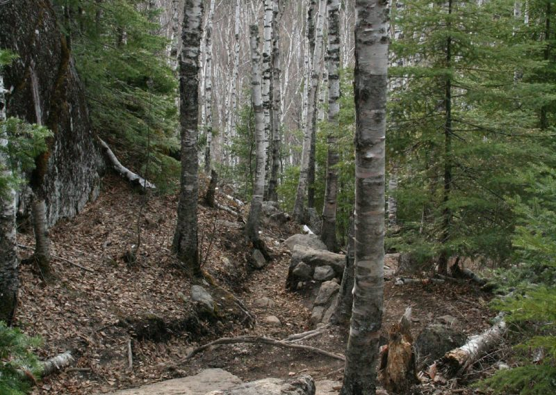 The Rugged Superior Hiking Trail - Photo Charlie Hubbard
