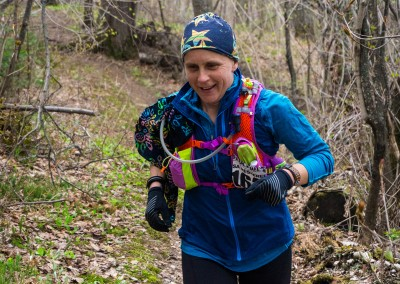 Trail Ambassador Lisa Messerer All Smiles - Photo Credit Jamison Swift